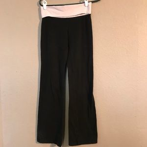 Size S Pink Victoria's Secret Boot Cut Yoga Pants